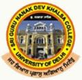 Sri Guru Nanak Dev Khalsa College_logo