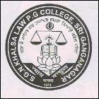 S G N Khalsa Law And P G College_logo