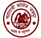 University Maharani'S College_logo