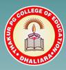 Thakur Pg College of Education_logo