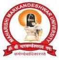 Maharishi Markandeshwar University Sadopur Campus Ambala_logo
