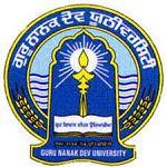 Guru Nanak Dev University_logo