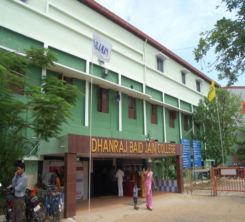 Dhanraj Baid Jain College-cover
