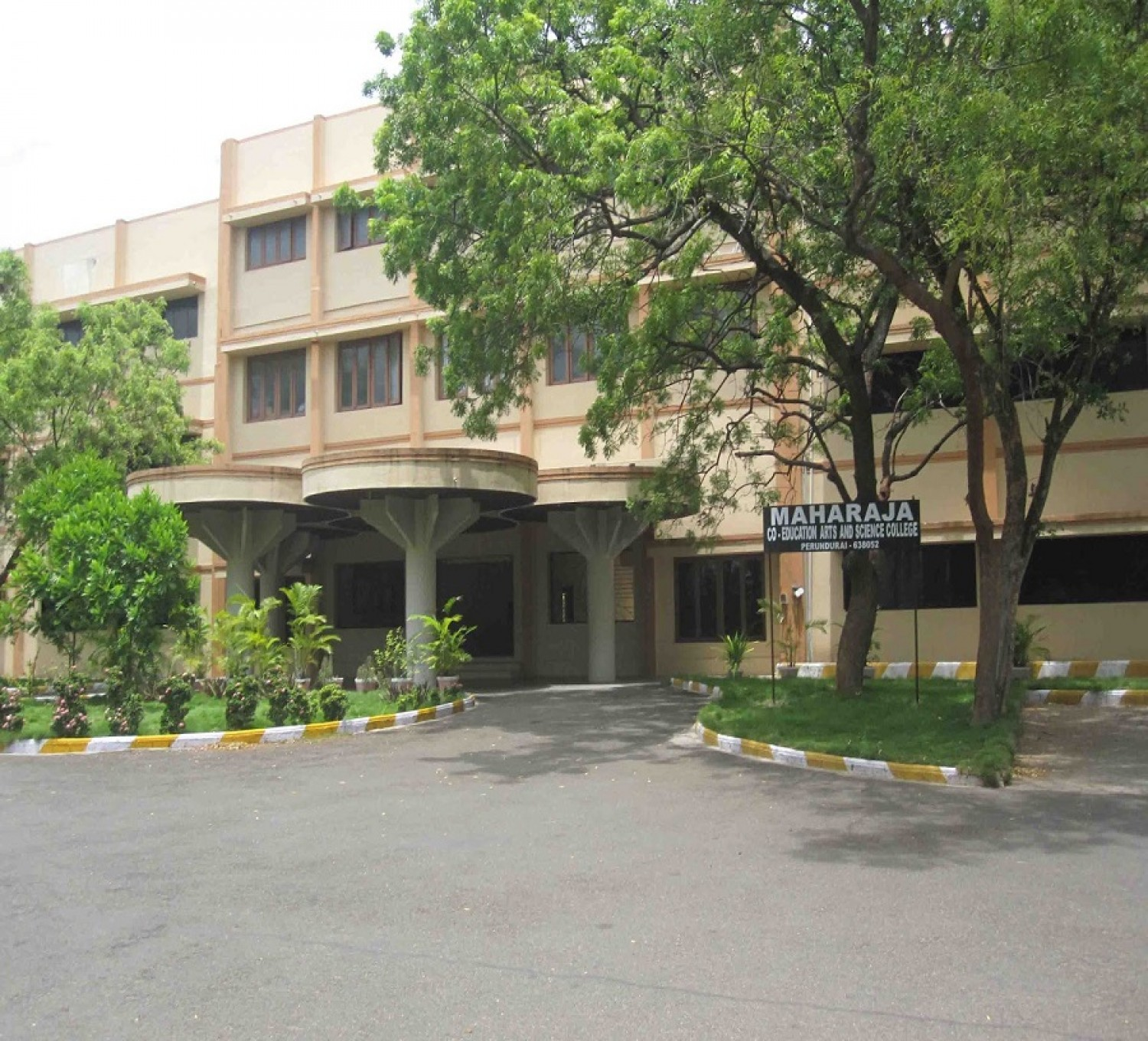 Maharaja Co-Education College of Arts and Science College-cover
