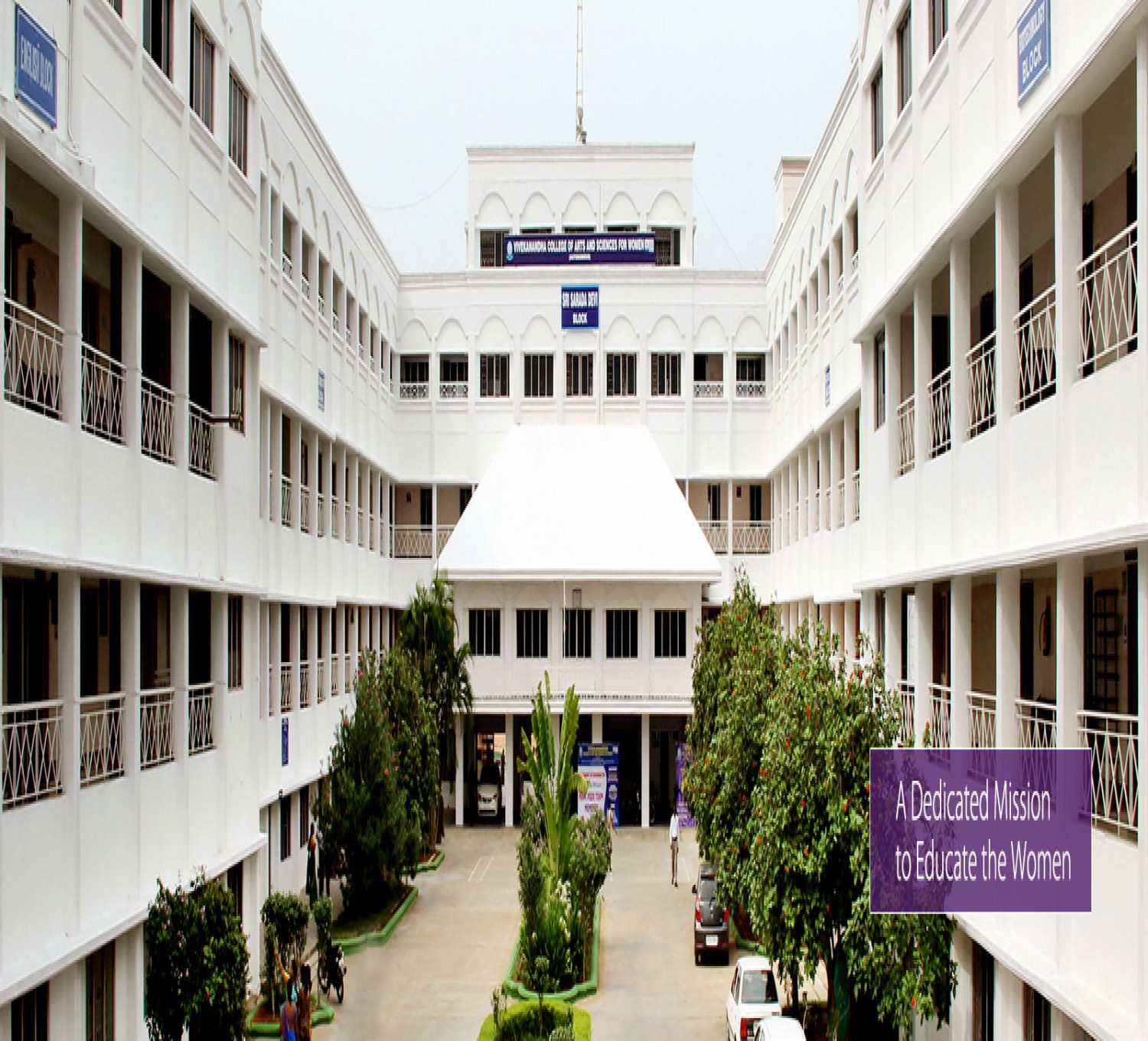 Vivekanandha College of Arts and Sciences for Women-cover