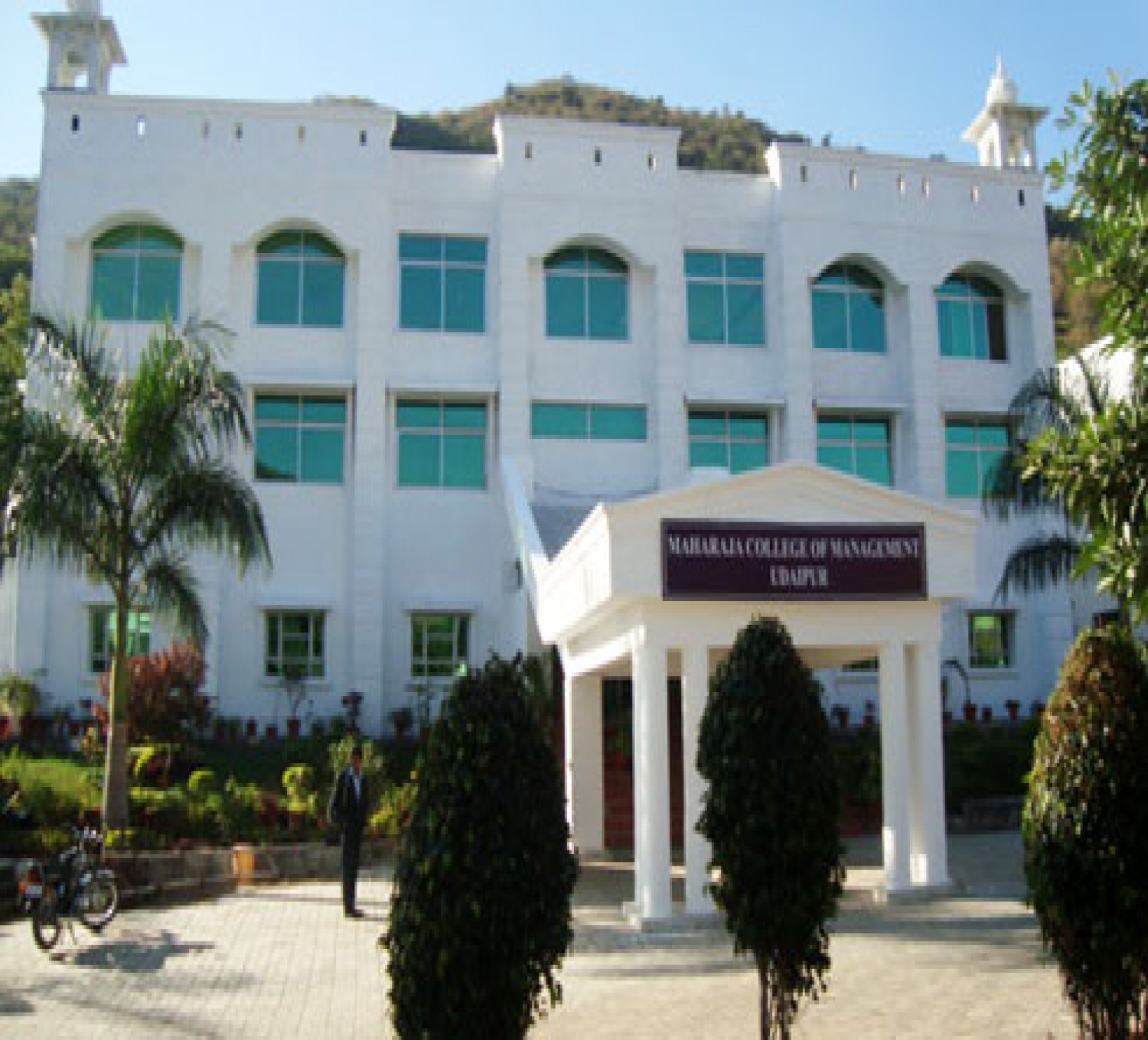 Maharaja College Of Management-cover