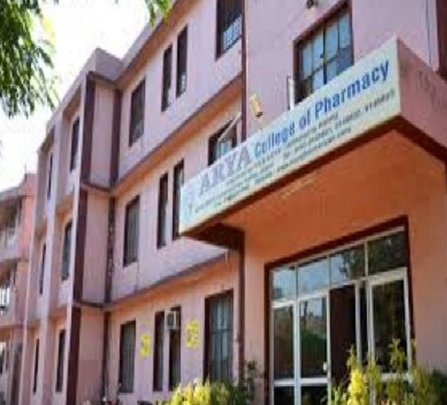 Arya College Of Pharmacy-cover