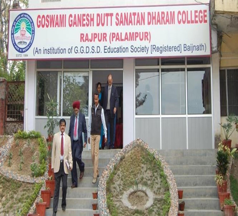 Goswami Ganesh Dutta Sanatan Dharma College-cover