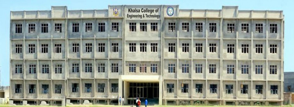 Khalsa College of Engineering and Technology_cover