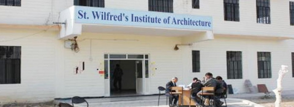 St Wilfred'S Institute Of Architecture_cover