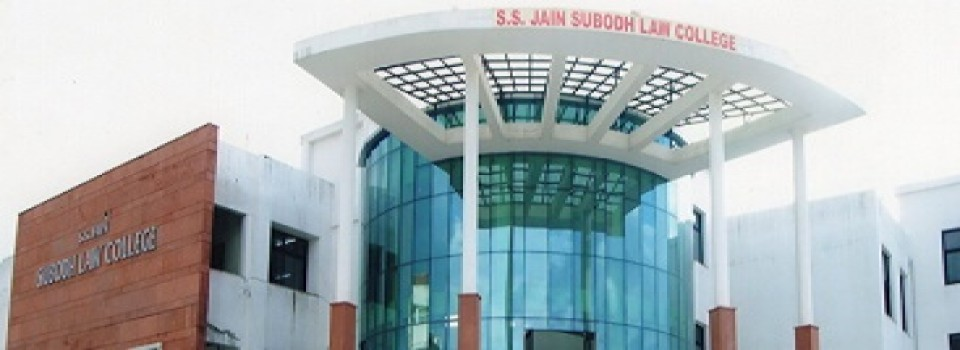 S S Jain Subodh Law College_cover