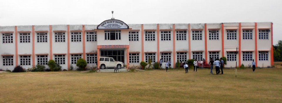 Kanta College of Education_cover