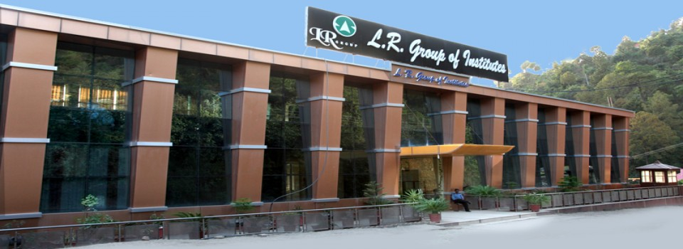 Lr Institute of Engineering And Technology_cover