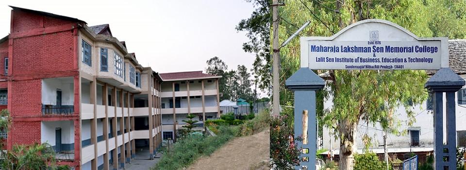 Maharaja Lakshman Sen Memorial College_cover