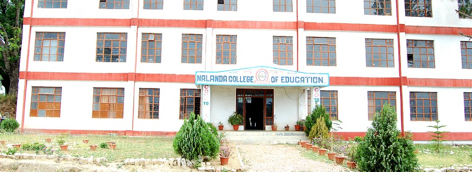 Nalanda College of Education_cover
