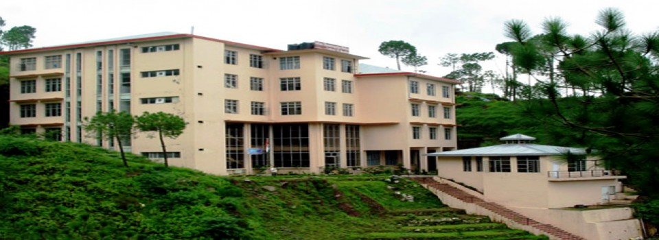 Solan Homoeopathic Medical College And Hospital_cover