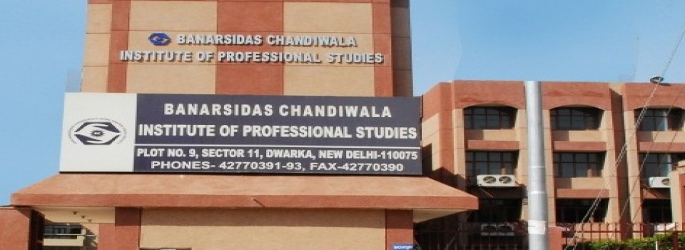 Banarsidas Chandiwala Institute of Professional Studies_cover