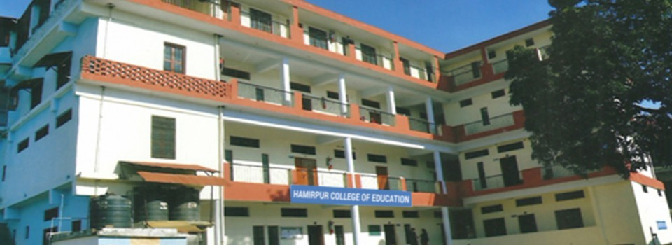Hamirpur College of Education_cover