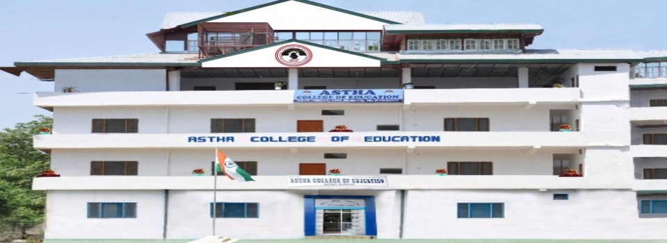 Astha College of Education_cover
